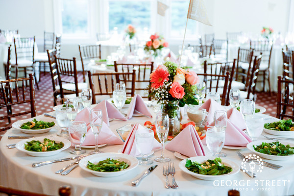 Table in Ballroom